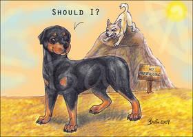 Should I? by Bafa