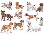 A - Dog Breeds -page 3-