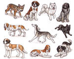 S - Dog Breeds -page 1- by Bafa