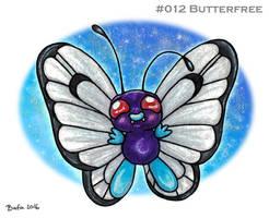 #012 Butterfree by Bafa