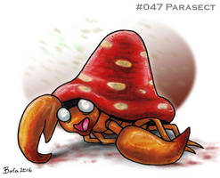 #047 Parasect by Bafa