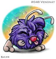 #048 Venonat by Bafa