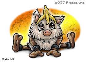 #057 Primeape by Bafa