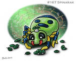 #167 Spinarak by Bafa