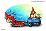 #265 Wurmple by Bafa