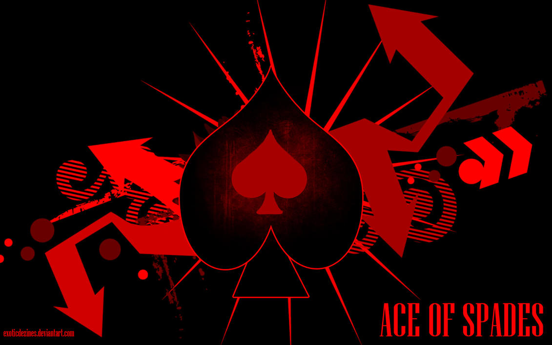 Ace of spades wallpaper by exoticdezines on deviantart ace of spades wallpaper by exoticdezines voltagebd Images