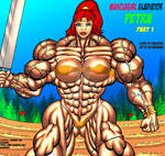 MUSCLEGIRL GLADIATOR PETRA Part 1 Cover by Alphadaawg