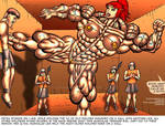 MUSCLEGIRL GLADIATOR PETRA Part 1 PIC 42 by Alphadaawg