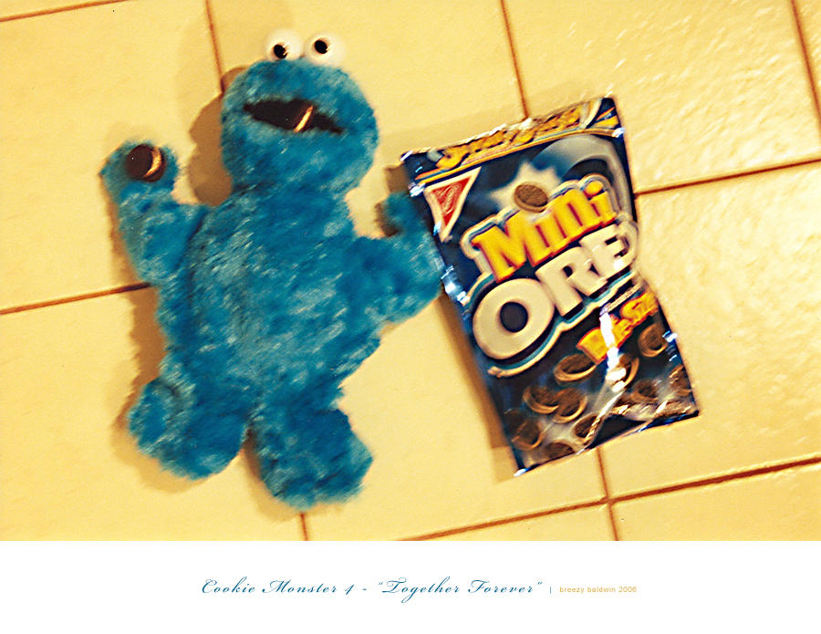 Cookie Monster IV by breezy421