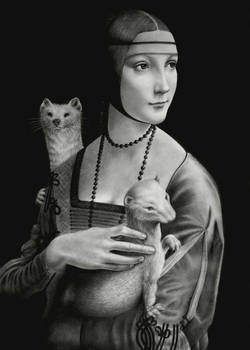 Lady with Two Ermines