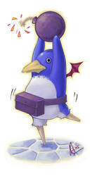 prinny d00d by remichan