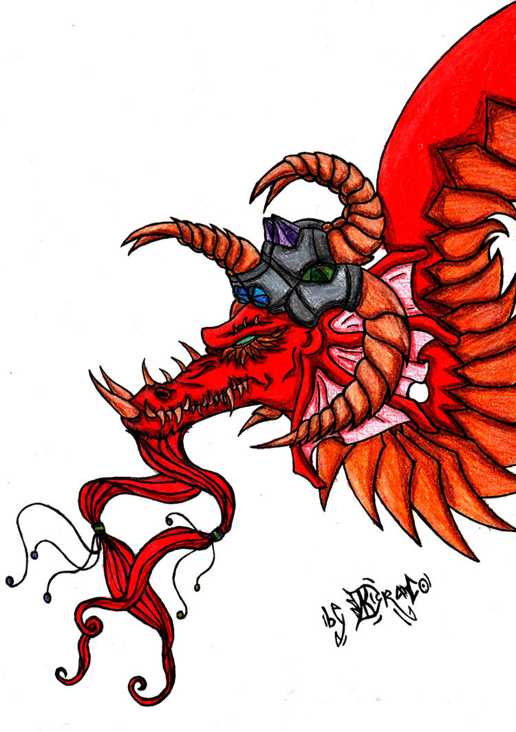Drake coloured by NecroXenon