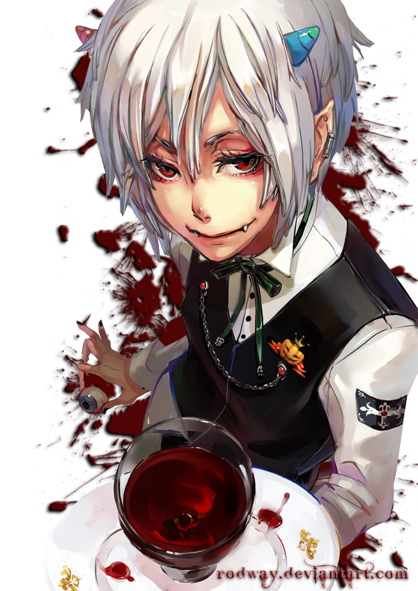 bloody anime. by rodway on DeviantArt Bloody Dead Anime Guy