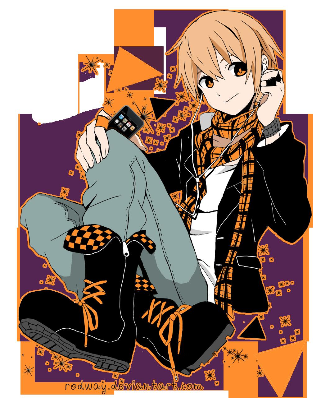 Orange Anime By Rodway