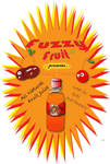 Fuzzy Fruit Poster