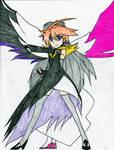Cure Black Akemi Cross by Sentaifreak