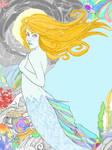 TatteredDreams Mermaid Color by ChovexaniArt