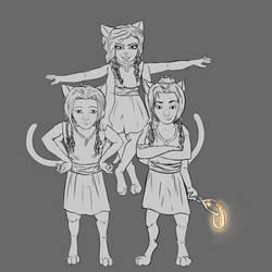 Rayk Kraya Lulu Kittens by ChovexaniArt