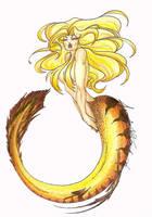 Golden Mermaid '04 by KemickArt