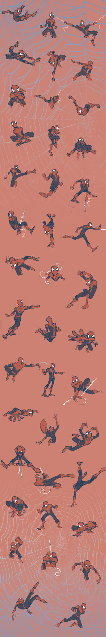Spidermen... lots of Spidermen by AdamMasterman