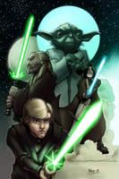 Jedi Lineage- Colors by AdamMasterman
