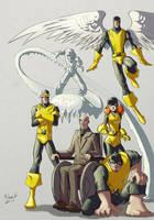 Classic X-Men by AdamMasterman
