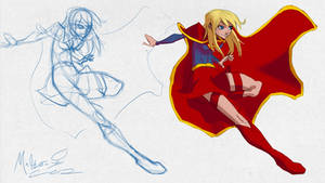DSC-New Supergirl by AdamMasterman