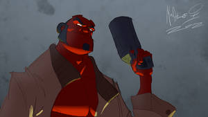 Hellboy 2012 by AdamMasterman