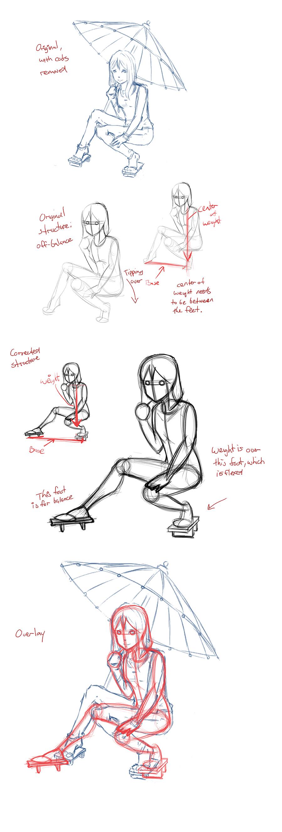 Umbrella Sketch- Correction by AdamMasterman