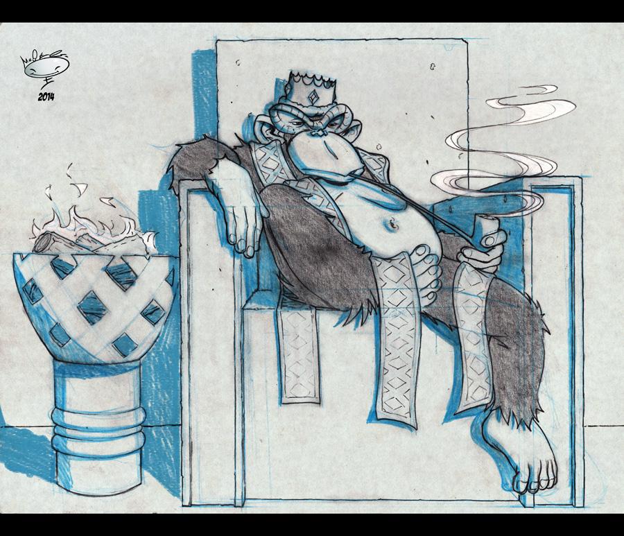The Monkey King by AdamMasterman