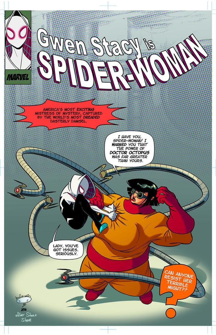 Spider-Gwen and Doc Oc by AdamMasterman