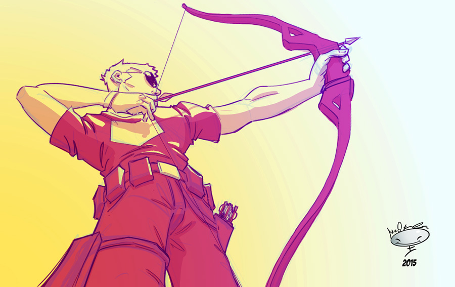 Hawkeye by AdamMasterman