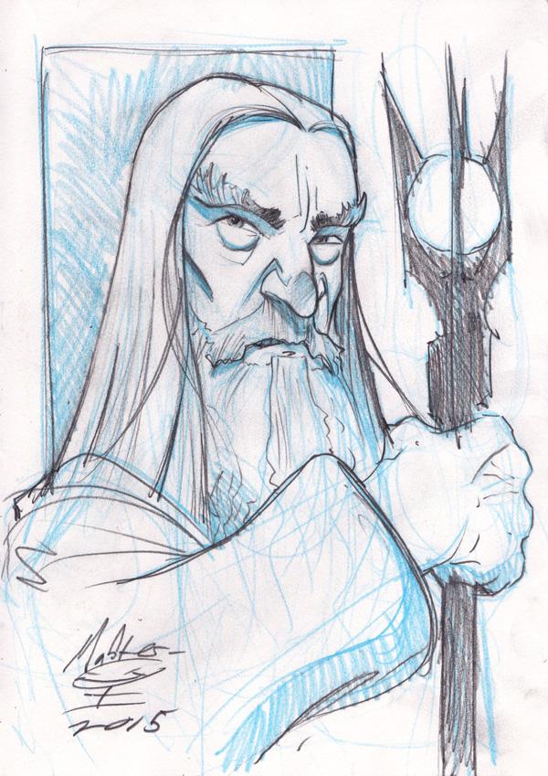 Saruman the White by AdamMasterman