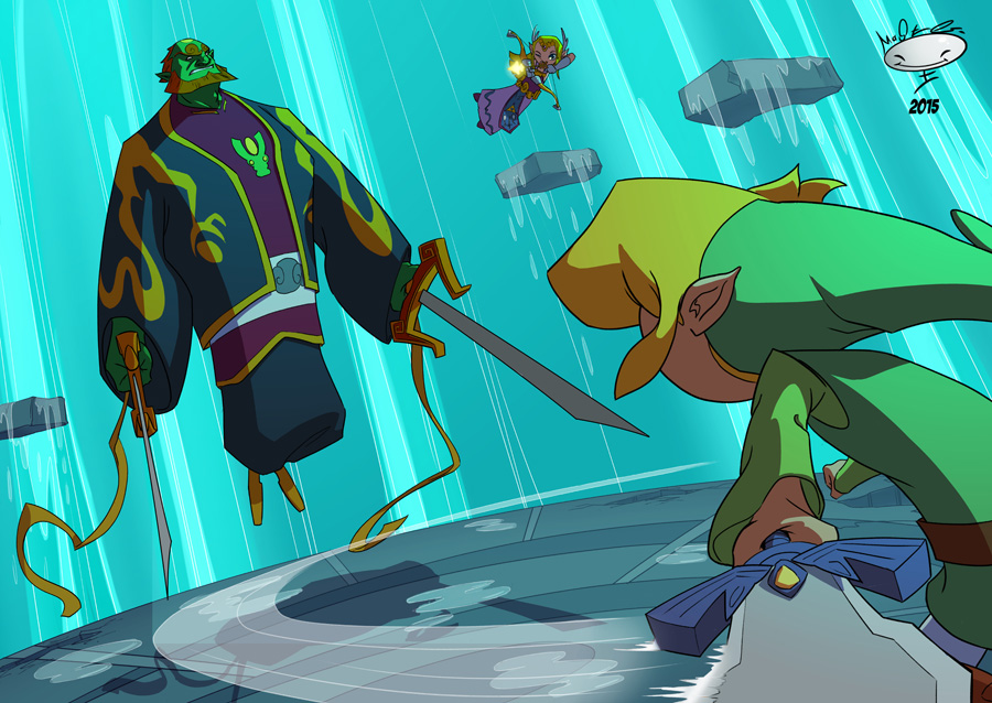 Defeat Ganon! by AdamMasterman