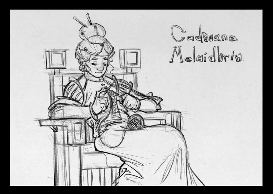 Cadsuane by AdamMasterman