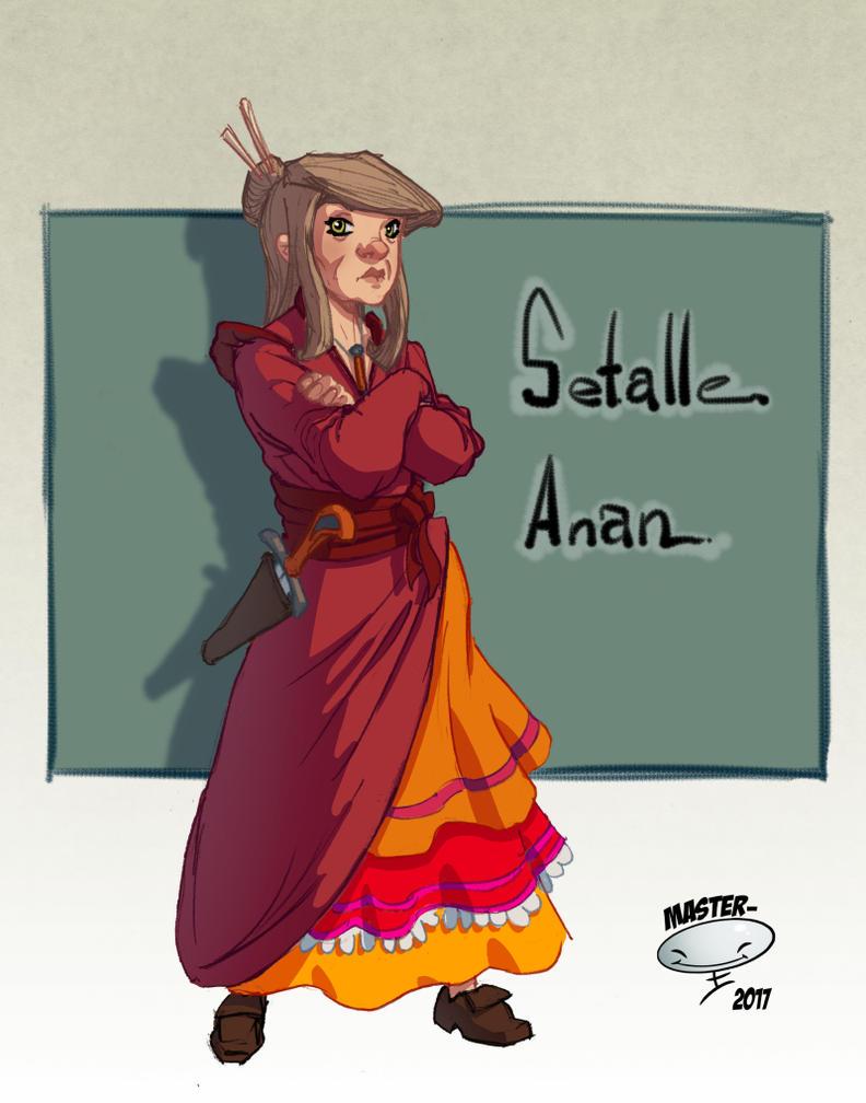 Setalle Anan by AdamMasterman