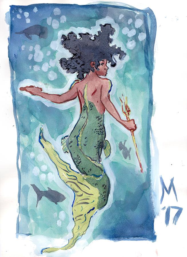 Mermaid by AdamMasterman