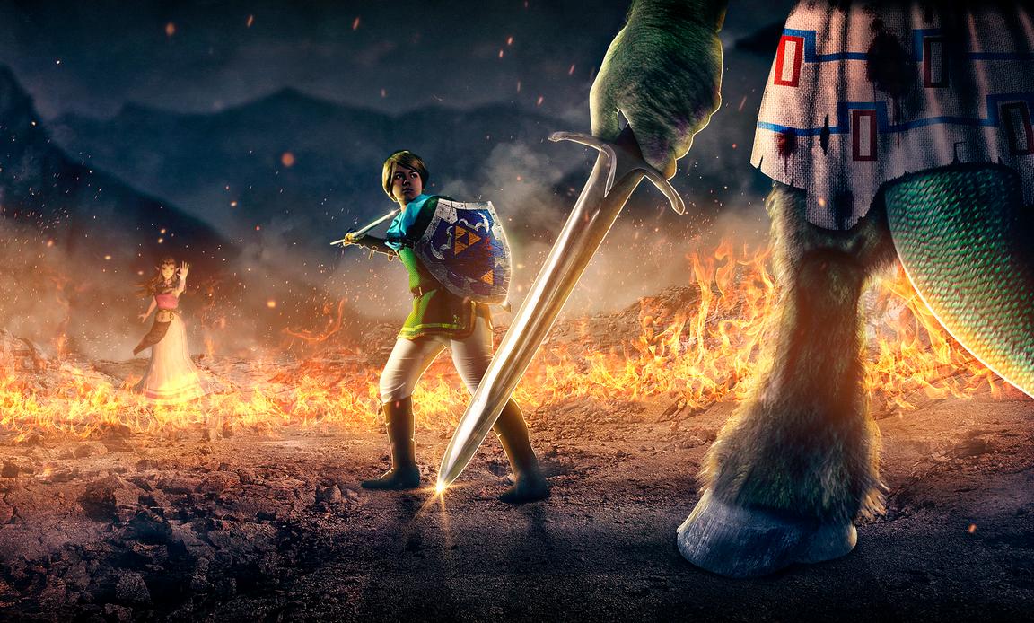 Final Battle - The legend of Zelda by mLiink