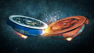Earth vs Mars Beyblade theory