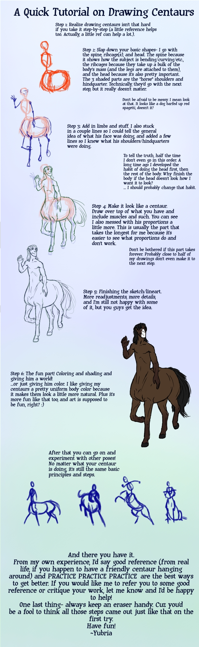 Quick Tutorial on Centaurs by Yubria