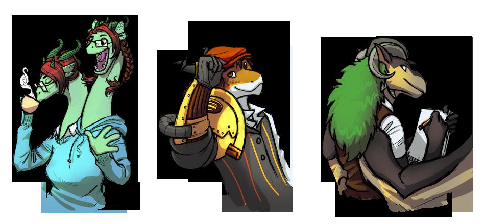 Dragonsona Contest Winners by Yubria