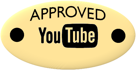 Approved YouTube Works Plate