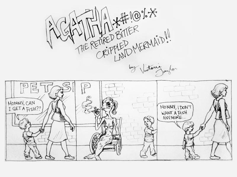 Agatha comic strip 2 by DragonSpark