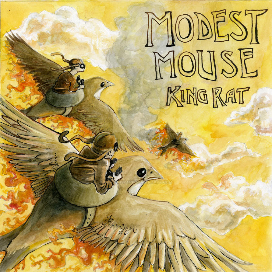 Modest mouse art