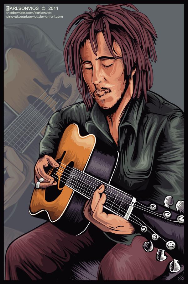 Bob Marley by pinoyakoearlsonvios
