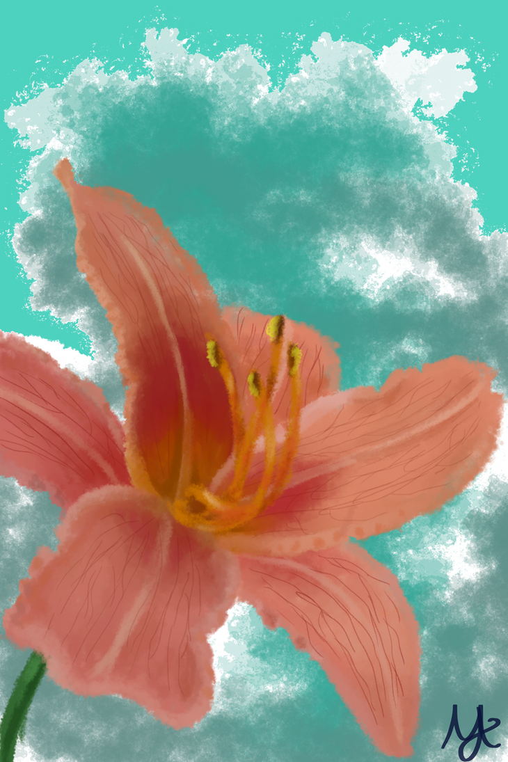 Flower by naMina22