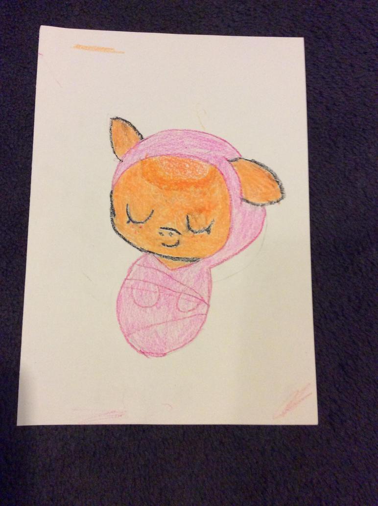 Baby tangerine by Oak-Storm