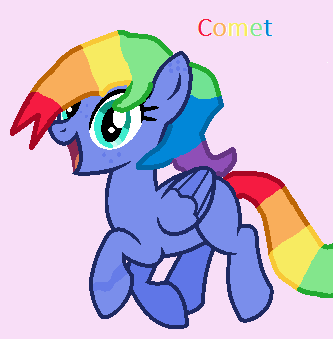 Refrence Sheet: Comet by Oak-Storm
