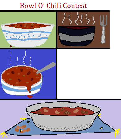 Drawing Contest Chili Contest by Oakstormftw