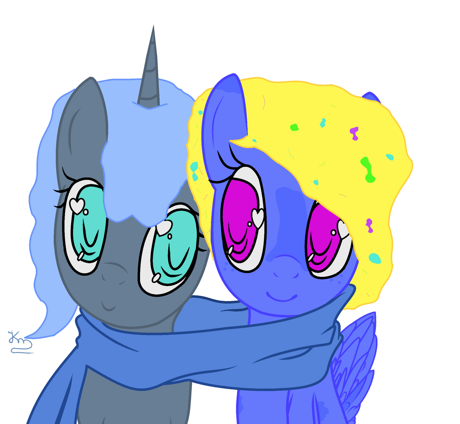 Scarf Ponys by Oak-Storm